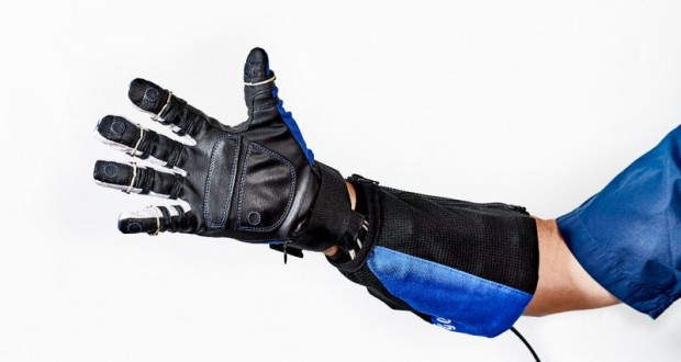 A RoboGlove designed by NASA will help factory workers get a grip