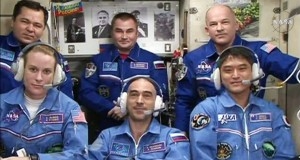 New crew members arrive at International Space Station