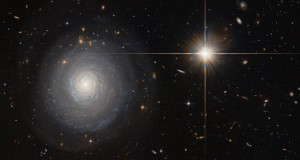 Hubble spots a secluded starburst galaxy