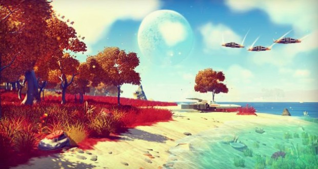 Gamer who bought early copy of No Man's Sky has already reached center of galaxy