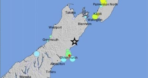 Tsunami alert issued after strong earthquake in New Zealand