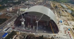 New Chornobyl confinement almost in place