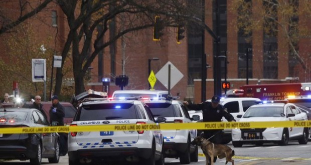 Gunman dead, nine people injured in Ohio State University shooting
