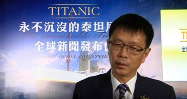 Chinese company builds a full-size replica of Titanic