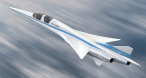 New supersonic passenger aircraft prototype revealed