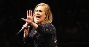 Adele frightened by bat flew in during performance in Mexico