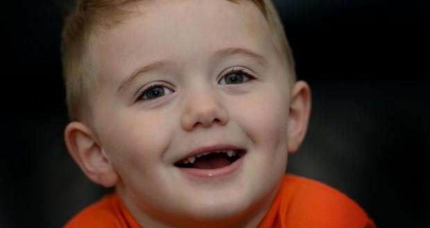 Three-year-old boy saves his dad's life