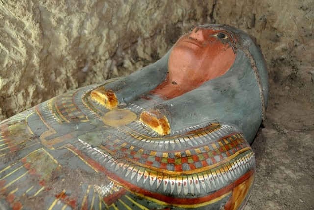 Ancient Egyptian mummy found 'in very good condition' in Luxor