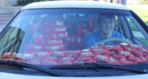 Company replaces stolen Kit Kat bar with 6,500 more