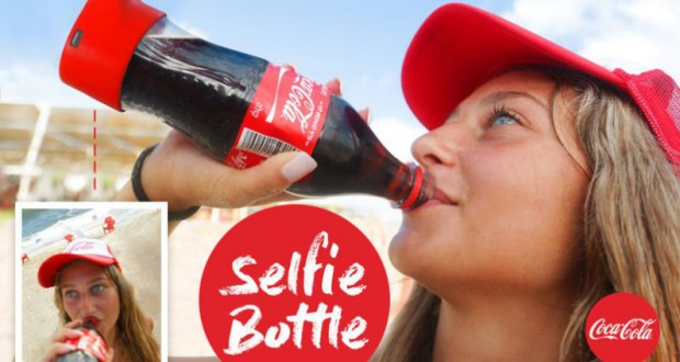 Coca-Cola 'selfie bottle' snaps your pictures while you drink