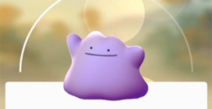 Pokemon Go holiday surprise: You can catch Ditto now
