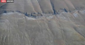 Unbelievable! Mountain in Italy shattered by earthquake - video