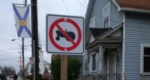 Canadian city banned tractors by mistake