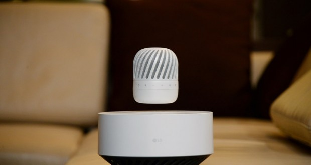 LG to present wireless levitating speaker at CES 2017