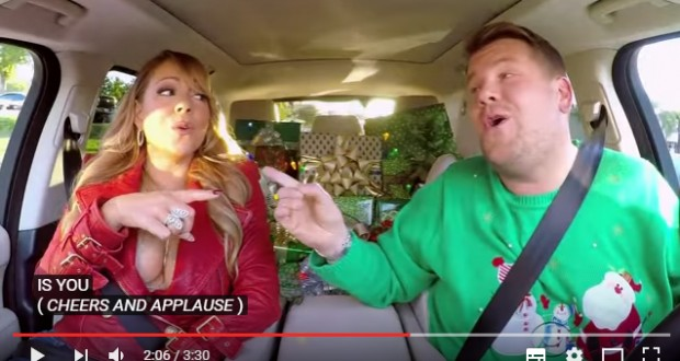 All I Want for Christmas Is You: Mariah Carey and more stars sing with James Corden in special edition of 'Carpool Karaoke'