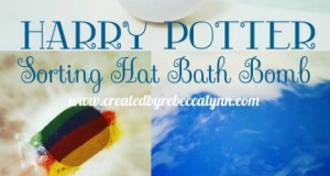 This Harry Potter bath bomb tells you if you belong in Gryffindor, Hufflepuff, Ravenclaw or Slytherin