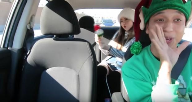 """All I Want For Christmas Is You"" – Uber carpool edition"