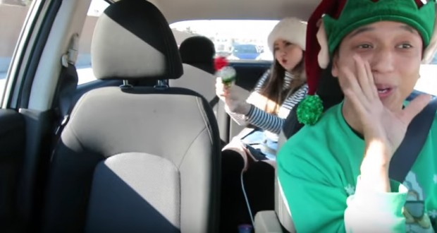 """All I Want For Christmas Is You"" – Uber carpool edition"