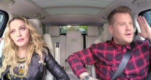 Madonna rides with James Corden in 'Carpool Karaoke'