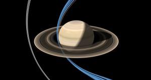 Cassini spacecraft made its first ring-grazing orbit around Saturn