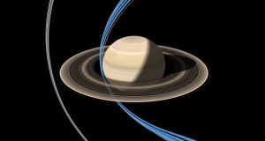 Cassini spacecraft made its first ring-grazing orbit around Saturn