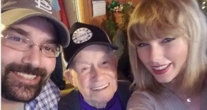 Taylor Swift made great Christmas present to her 96-year-old fan