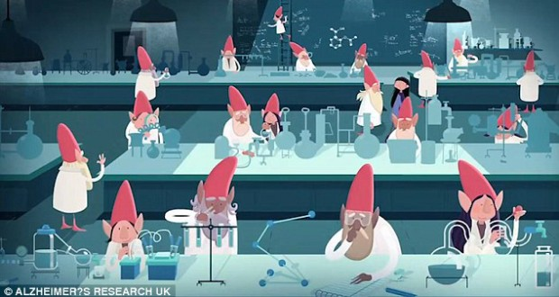 Stephen Fry narrates heartbraking fundraising ad for Alzheimer's Research UK