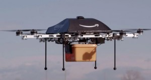Amazon plans to send delivery drones from flying warehouses