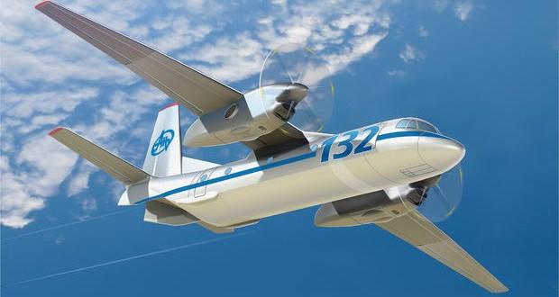 Ukraine's Antonov Corporation presented new AN-132D cargo aicraft