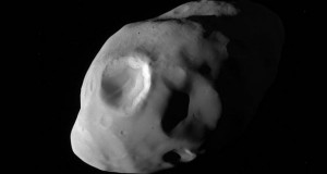 Cassini shows Saturn's moon Pandora close up