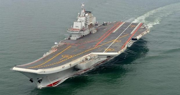 China's Liaoning aircraft carrier heads to Western Pacific for drills