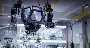 South Korea company develops 13-foot high walking robot