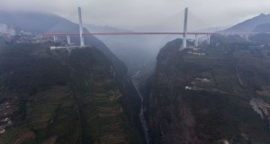World's highest bridge opens to traffic in China - video