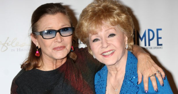 Debbie Reynolds, 'Singin' in the Rain' star and Carrie Fisher's mother, dies at 84