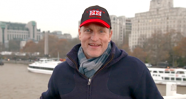 Woody Harrelson will be shooting film while streaming it in theaters