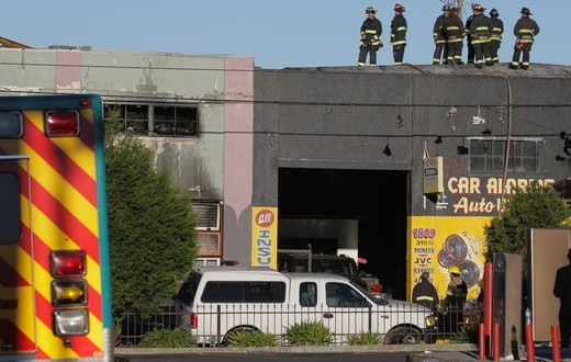 At least 9 dead, 25 missing in California warehouse fire / Getty Images