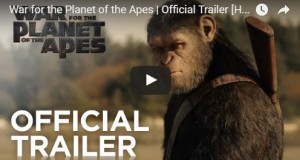 "Ultimate battle between humans and apes in ""War for the Planet of the Apes"" is coming (official trailer)"