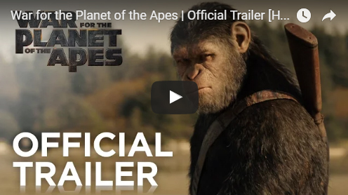 """Ultimate battle between humans and apes in """"War for the Planet of the Apes"""" is coming (official trailer)"""