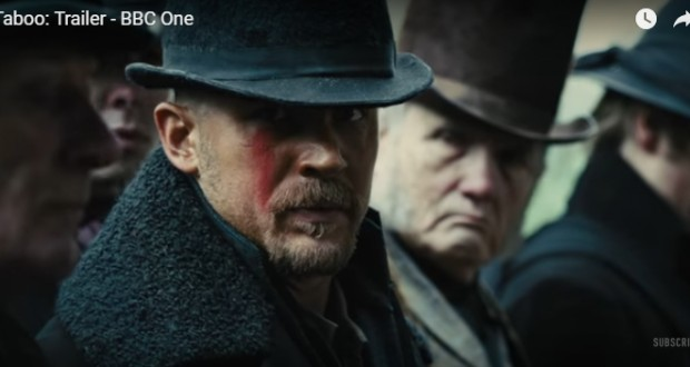 Watch the promising first full trailer for Tom Hardy's Taboo