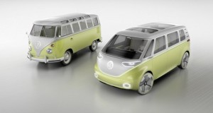 Volkswagen working on self-driving electric version of legendary hippie van