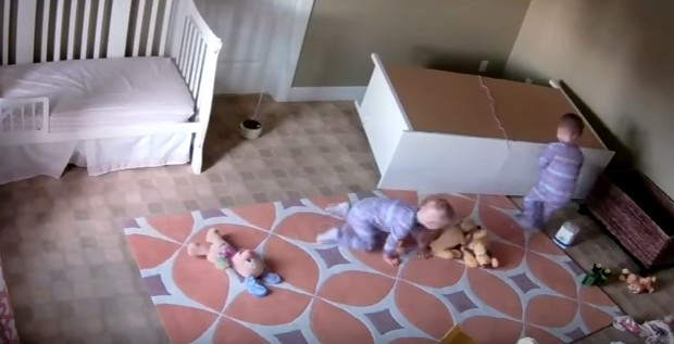 Toddler miraculously saves his twin brother from under fallen dresser