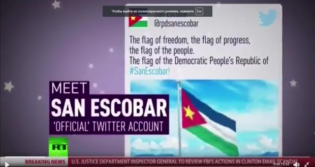 'Russia' glitch: Hours after RT interrupts C-SPAN, MSNBC experiences strange glitch