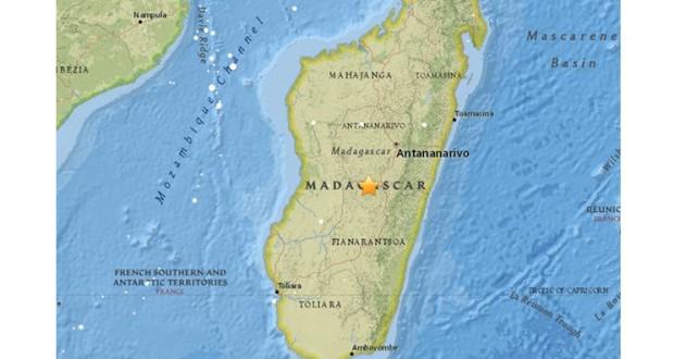 5.5-magnitude earthquake hits Madagascar