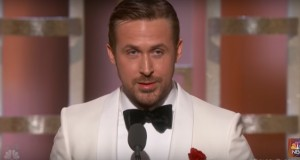 Watch Ryan Gosling's emotional Golden Globes acceptance speech