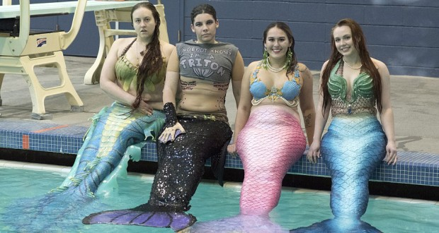 Meet Merfolk: 'Secret' US community where men and women identify as mermaids