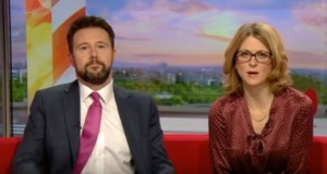 Oops! BBC presenters interview wrong man in embarrassing blunder - video