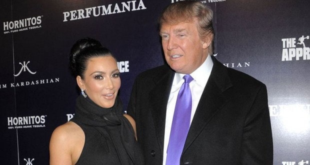 Kim Kardashian West has waded into the Donald Trump Muslim ban row