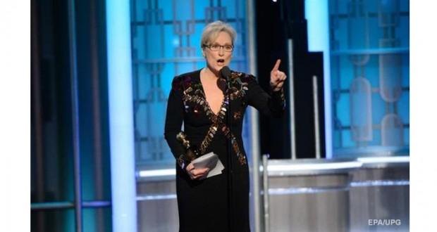 Meryl Streep's anti-Trump Golden Globe speech divides America