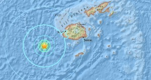 6.1 magnitude earthquake struck Fiji