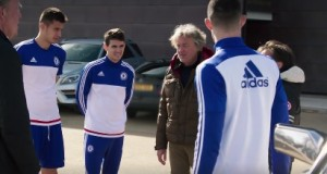 Chelsea stars not impressed with The Grand Tour's modified Mercedes